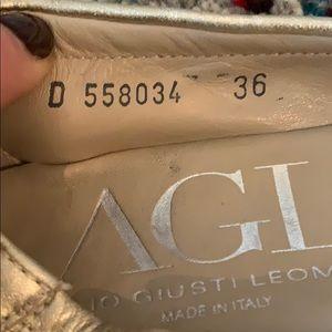 Attilio Giusti Leombruni Shoes - AGL nude ballet flats- excellent condition!⭐️